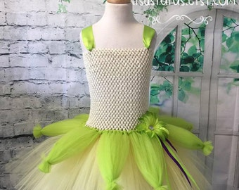 Tiana dress, Tiana tutu, Tiana tutu dress, Tiana costume, Princess and the frog tutu dress, Princess and the frog costume, Tiana birthday