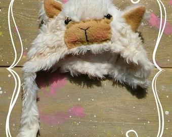 blythe alpaca fur helmet
