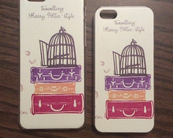 Traveling Harry Potter Style Case for iPhone