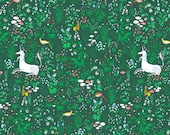 Tapestry in Green -Hit Parade Double Gauze -by Lizzy House for Andover Fabric