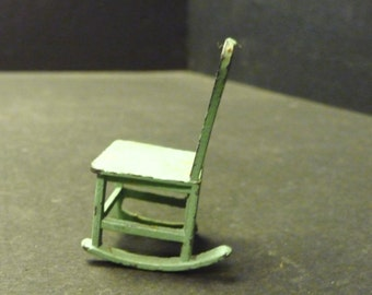 30% OFF -Tootsietoy dollhouse metal rocking chair
