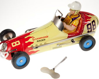 Classic tin Toy Racer Large Tin Toy Good Quality