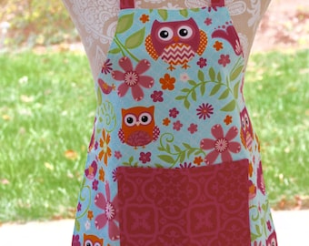 Children's Owl Apron