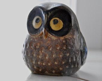 Small Vintage Owl Figurine