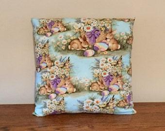 Easter Decoration, Easter Eggs, Easter Bunnies, Easter Pillow, Easter Decor, Easter Basket, Pastel Decor, Spring Decor