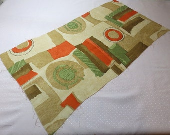 1950s' English vintage fabric - TS68