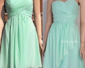 Mint bridesmaid dress, mint green bridesmaid dress, mint dress