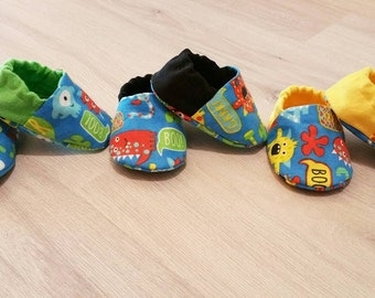 Baby Booties, Baby Gifts, Baby Slippers, Baby Crib Shoes, Baby Moccs, Baby Shoes, Baby Accessories, Monster Baby Slippers, Monster Shoes