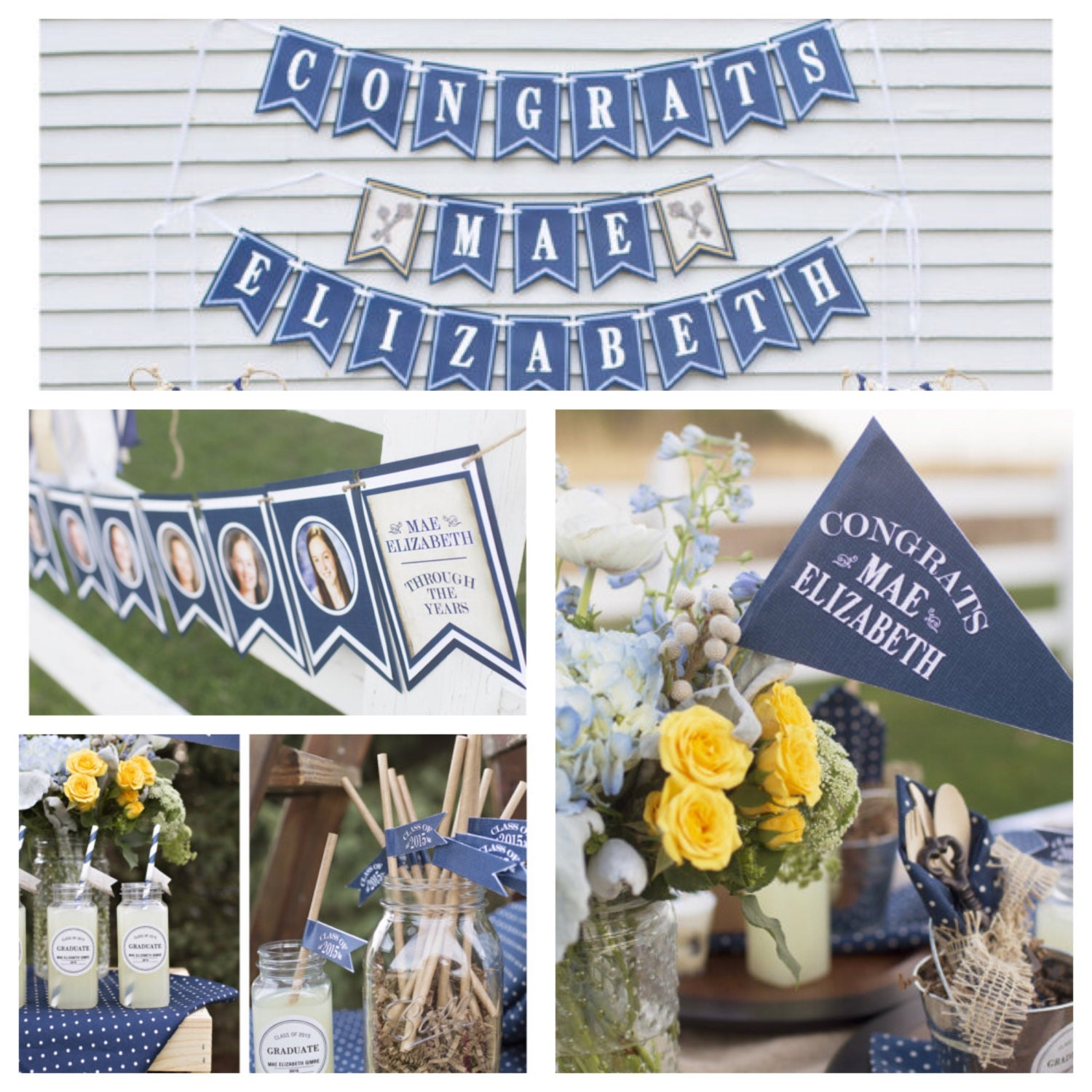 Graduation party decorations graduation banner graduation for Graduation decorations
