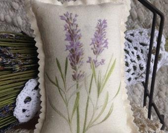 Lavender Door Hanger - Door Knob Pillow, Lavender Sachet