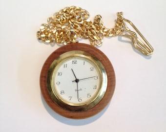 Classic Round Pocket Watch