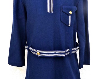 Girl dress (7 years) vintage 60s made in italy