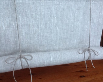 Window blind / roll up blind / tie up blind / Swedish blind / linen blind