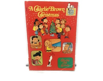 Charlie Brown, Charlie Brown Book, A Charlie Brown Christmas Book, 1977, Peanuts, Schulz