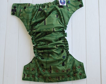 Cloth diaper  - Ready to go - Circuit Boards