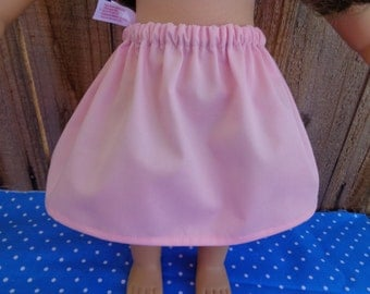 6 Inch-PINK Cotton 1/2 Slip for an 18 Inch Doll American Girl-Shown on my American Girl Doll