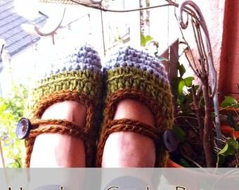 Mary Janes Crochet Pattern