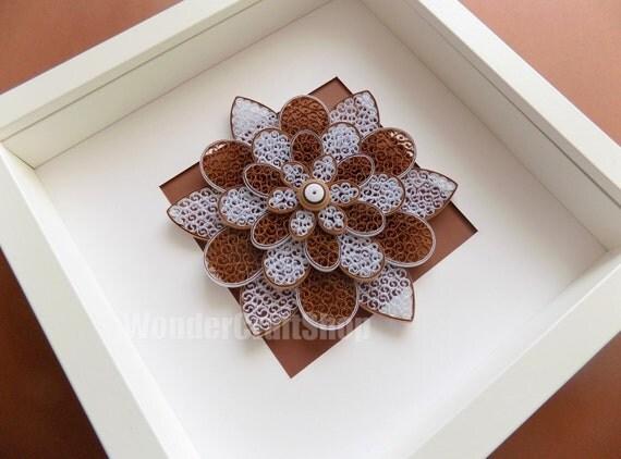 décor de mur de fleurs papier, brun décor à la maison, grande fleur, décoration florale, art nature encore, sticker fleur, décor de pépinière fleurs