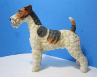 Vintage  Dog Figurine Collectible Collector Andrea by Sadek Japan