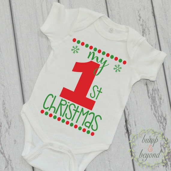 Baby Girl My First Christmas Outfit