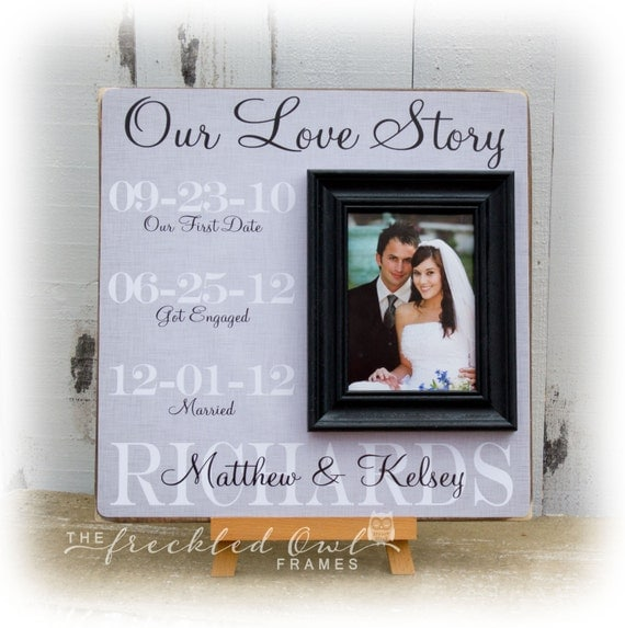 Wedding Anniversary Dates And Gifts: Anniversary Gift Our Love Story Special Dates Personalized