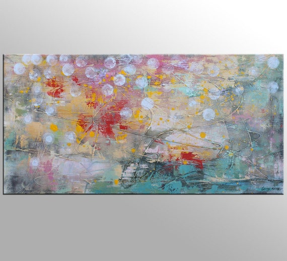 Abstract Canvas Painting Kitchen Decor Large Abstract