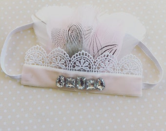 Sweet Love feather crown