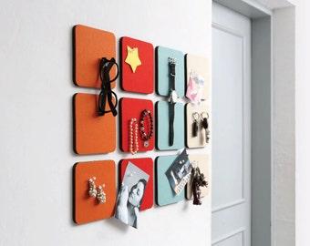 Felt Sandwich Smart Board (S) - Square, felt wall decor sticker, interior accessories / 10DO50