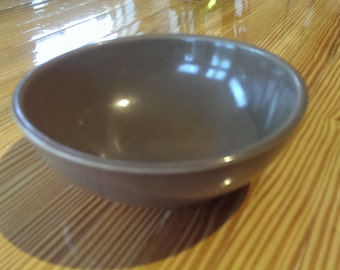 Russel Wright Iroquois cereal bowl - brown
