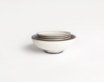 Mid Century Zaalberg Bowl And Plates Set Of 8