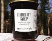 Handcrafted Elderberry Syrup // Traditional Cold Remedy