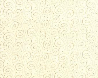 Polka Dots and Paisleys Cream Paisleys Yardage SKU# 14808-11