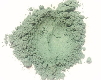SEA FOAM Mineral Eye Shadow - Natural Mineral Makeup - Gluten Free Vegan Face Color