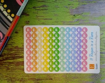 Vacuum Cleaner Planner Stickers | Erin Condren | Happy Planner | Cleaning Planner Stickers | Mini Dot Planner Stickers | CL031