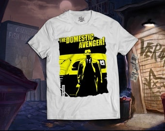 """Local Product: American Made T-Shirts """"Domestic Avenger Tee"""""""