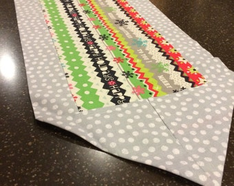 Happy Holidays Christmas Table Runner