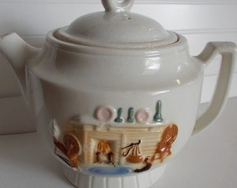Vintage Porcelier China Teapot