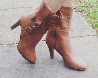 SALE Vintage Coach Heels // Boots // Booties