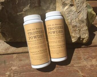Men's Trouser Powder All Natural Talc Free Body Powder