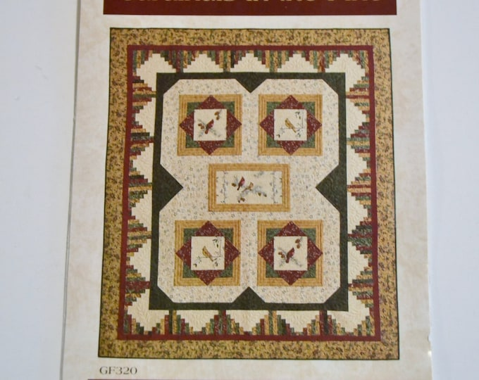 Cardinals in the Pine Quilt Pattern Gathering Friends Kathryn Squibb Deborah Jacobs Sewing Quilting PanchosPorch