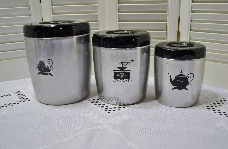 28 black kitchen canister sets black kitchen canister sets black kitchen canister sets vintage west bend kitchen canister set of 3 aluminum black