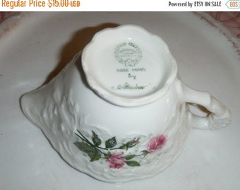 ALL ON SALE Blush Pink Steubenville (also known as Rose Point ). Creamer.