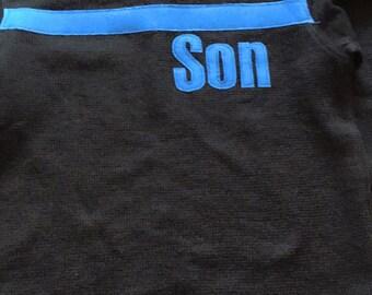 Thin Blue Line, Thin Blue line Shirt, Thin blue line baby, Blue line shirt, Onesie