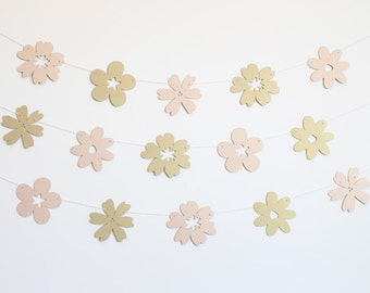 Wedding Flowers Party Banner - Customizable Colors