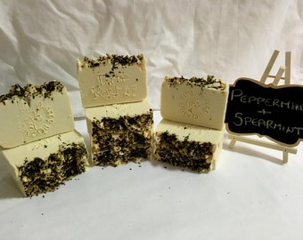 Peppermint & Spearmint 100% Olive Oil Soap
