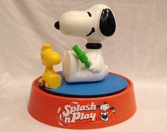 Super Rare Peanuts Snoopy and Woodstock Yard Sprinkler
