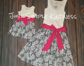 Mommy & Me Dresses. Mother and Daughter Dress. Mother Daughter Matching Dress. Mommy and Me Outfits. Mommy and Me. Mommy and Me Dress.