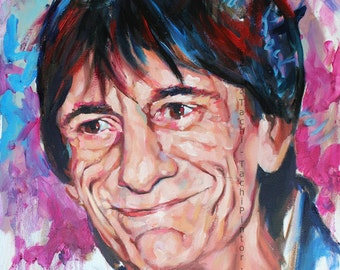 Ronnie Wood, Rolling Stones, Rythmn and Blues, Rock Bands