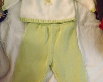 2 pc. All COTTON Knit SET Baby 6M.