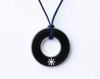 Chaos Magick Sigil Washer Necklace
